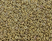4x1.5mm Antique Gold Alloy Metal Daisy Spacer Beads - Qty 50 (G172) SE
