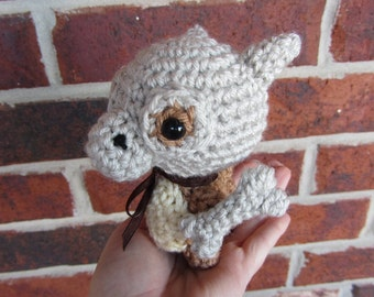 READY TO SHIP - Crochet - Chibi Pokemon Amigurumi - Cubone (with optional bone prop). Pokemon Plush. Pokemon Go. Cosplay Prop. Anime. Gift.