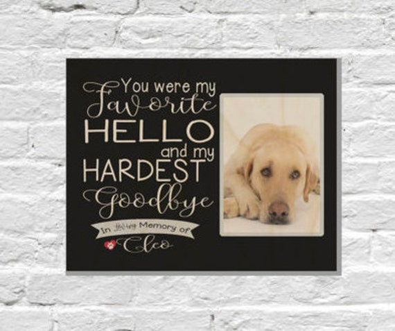 like this item - Dog Memorial Picture Frames