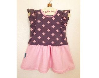 Baby Dress Sewing Pattern Girls Dress Pattern Sizes 6 9