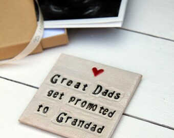 Grandparent Ceramic Coaster