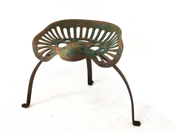 Like this item?  sc 1 st  Etsy & Antique Tractor Seat Stool Cast Iron Industrial Farm Decor islam-shia.org