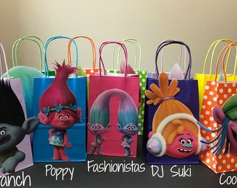 Trolls Party Bags