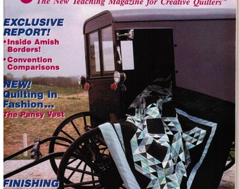 Traditional Quilter Magazine - Amish Quilt Special
