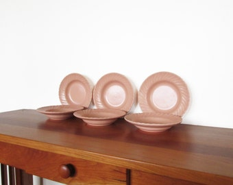 Franciscan Coronado Coral Beige Fruit Sauce Bowls Set of Six