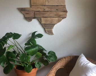 Choose Your State Sign | Reclaimed Wood | Pallet Sign | Home Decor | Wall Art | Rustic Decor | Barn wood | United States | Texas |