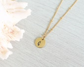 Seahorse Necklace - Tiny Seahorse Charm Necklace - Gold or Silver Seahorse Pendant - Beach Jewelry - Beach Necklace - Gold Seahorse Necklace
