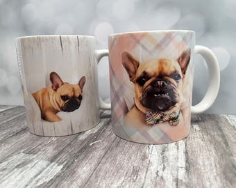 Pet Memorial Photo Mugs, Custom Mugs, Personalized Mug, Personalized Coffee Mugs, Picture Mugs, Coffee Mug, Pet loss Gifts, Pet Memorial