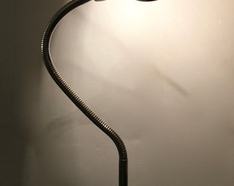 1950s Heavy Industrial Metal Desk Lamp * FREE UK POSTAGE