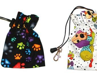 Clip-on Plastic Bag Holder