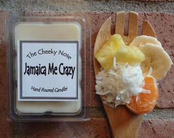 Jamaica Me Crazy, Wax Melts, Soy Wax Melts, Soy Melts, Wax Tarts, Smokeless Candle, Scented Soy Melts, Coconut Rum Melts, Pineapple Melts