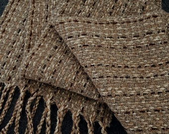 Alpaca Wool Scarf (16SCL-012)