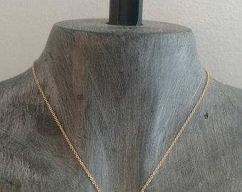 Druzy Dark GRAY Drusy necklace, dark gun metal druzy pendant, vertical druzy necklace, sideways druzy,  modern,