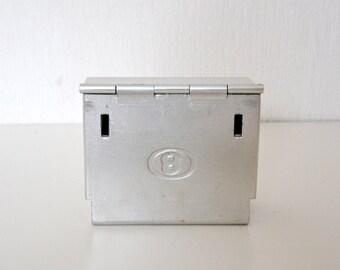 Vintage box Empty pocket or ashtray / railway transport Belgian company
