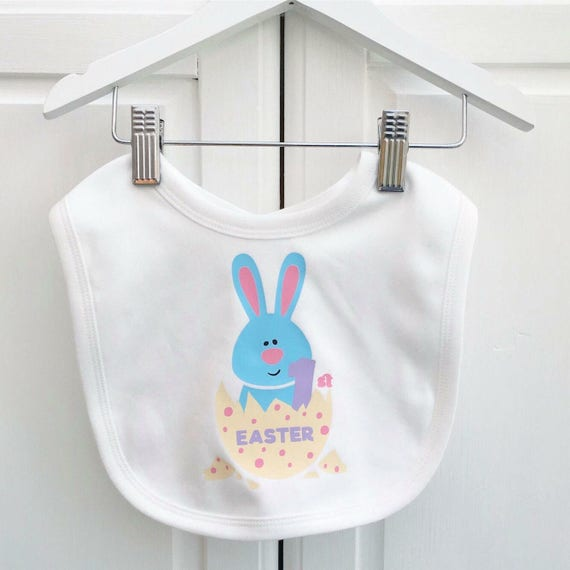 1st easter bib baby easter gift personalised easter gift uk like this item negle Gallery