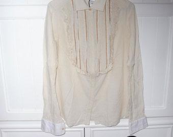 ROBERTO CAVALLI blouse size 40 Italian (36 GB) 1990's