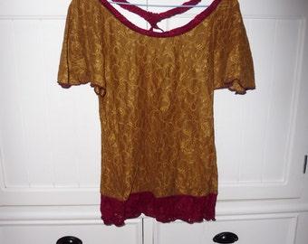 Lace blouse size 38 en - 1980s