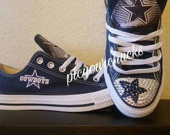 Custom Adult - Dallas Cowboys Converse #1