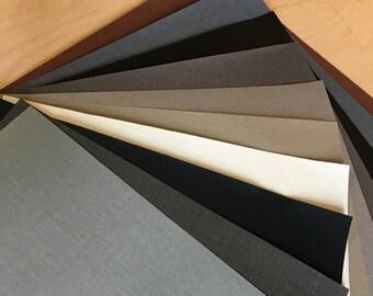 "10 Pack - 11.5"" x 5"" - Bookcloth Bundle- Neutrals"