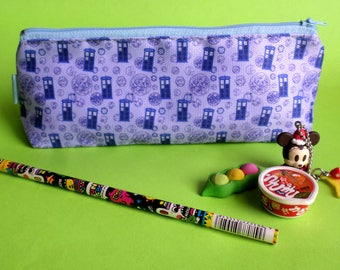 Cute Dr. Who Pencil Case Zipper Pouch Bag Pen Box School Tardis 2