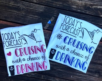 Cruising with a chance of drinking shirt