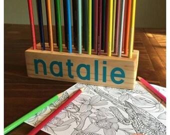 Colored Pencil Block