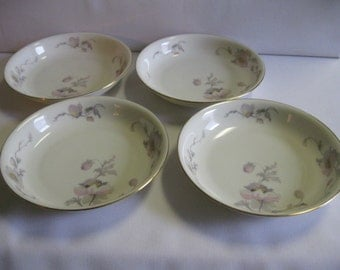 EPIAG China Pastelle Four Soup or Cereal Bowls Czechoslovakia
