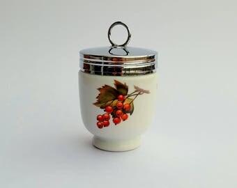 Vintage Egg Coddler Royal Worcester Porcelain