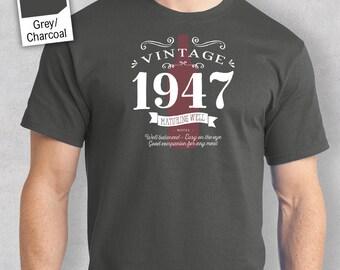 70th Birthday, 1947 Birthday, 70th Birthday Gift, 70th Birthday Idea for 1947 Birthday, 70th, Birthday Shirt, 70 Birthday!