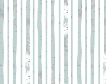 SALE!! 1 Yard Blithe by Katrina Roccella for Art Gallery Fabrics- 75607 Glacier Path Aqua