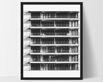 Wall Art, Architecture Printable, Architecture Decor, Architect, 8x10, Abstract, Home Decor, Wall Decor, Black and White, Photography