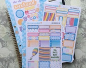 Move Mountains Kit! 3 Page Punched Kit, for your Erin Condren Life Planner, Plum Planner,  Filoflax, calendar