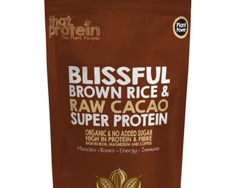 Blissful Brown Rice and Raw Cacao Super Protein