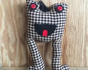 Evil Checkered | Monster Plush