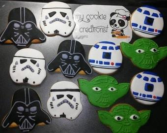 Star Wars Sugar Decorated Cookies