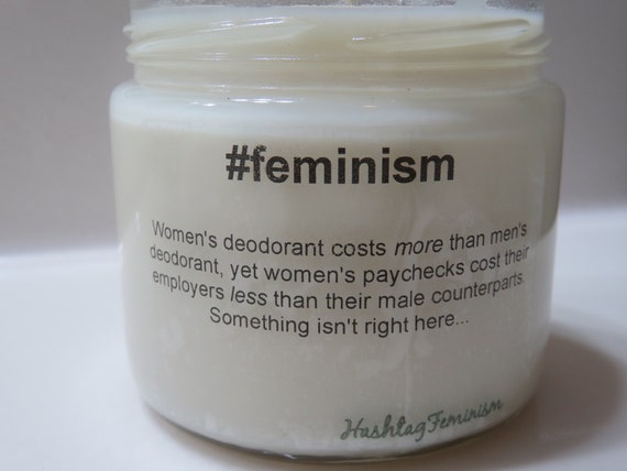 #Feminism Candle | Feminist Gift Guide