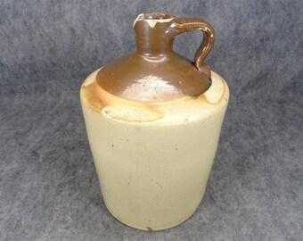 Early 20Th Century Large Ceramic Whisky Jug
