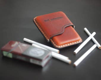 "A cigarette-case ""Slim"""