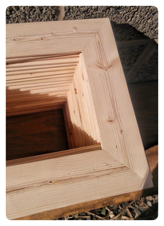 25 wood frames no hardware or glass bulk wood frames 5 for Unfinished wood frames for crafts