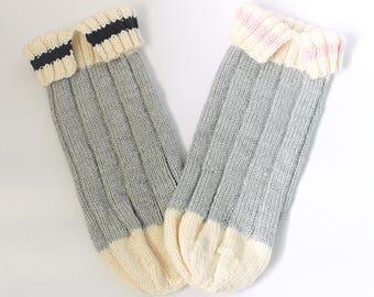 Knitted Baby Sleep Sacs I Sock Monkey Baby Sleep Sacs I Comfy Cuddle Sac I Baby Cocoon