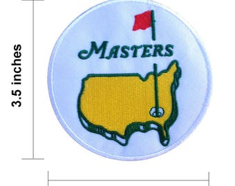 The Masters Golf Embroidered Iron On Patches