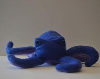 Two Tone Octopus Plush