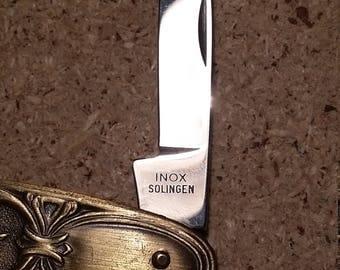 Vintage Folding Knife INOX