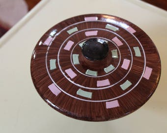 Hand Painted Ceramic Table Dish