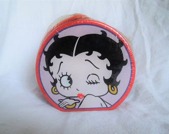 90s Betty Boop Kiss Candy Collectors Tin New in Package