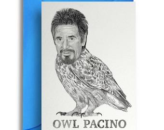 Owl Pacino Card