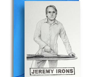 Jeremy Irons Card