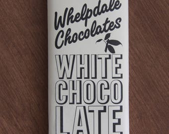 Vegan White Chocolate Bar
