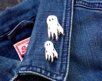 Cute Ghost - Pin - Brooch - Halloween