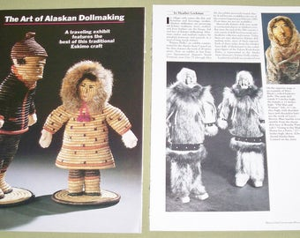 1984 Magazine Article Reference ~ The Art of Alaskan Dollmaking